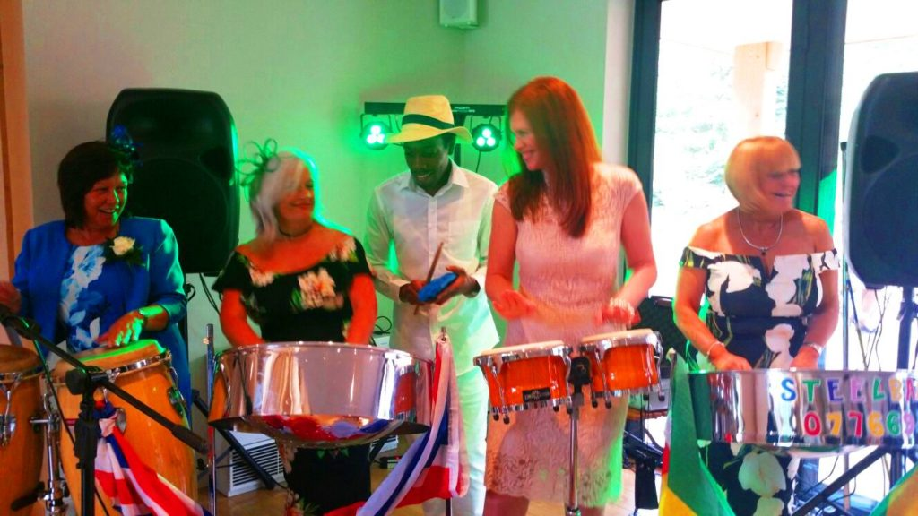 UK is the Best Caribbean Steel Drum Band Entertainment you Can Book Call 07944432649