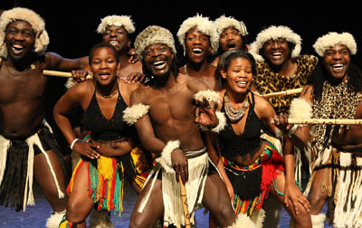 African drummers and dancers based here in the United Kingdom