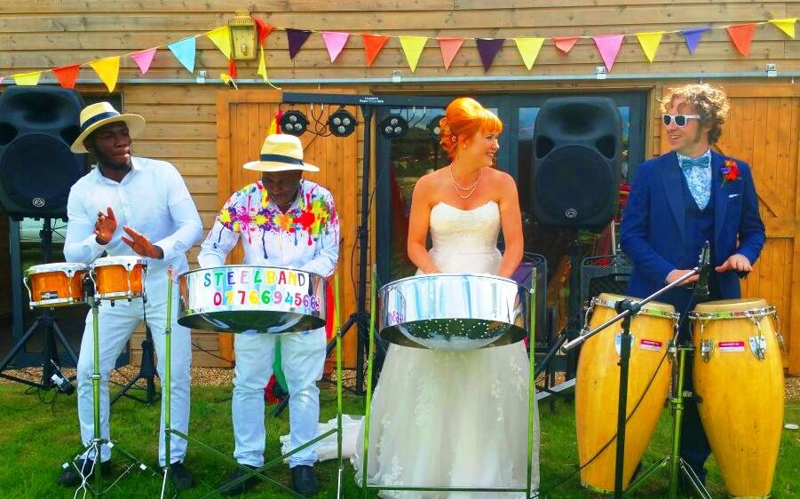 wedding Caribbean Steel Band in the UK London or Birmingham We are the One aour Number is 07944432649